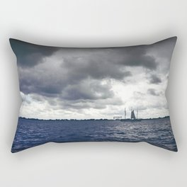 blue river Rectangular Pillow