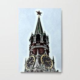 Kremlin Chimes-dramatic Metal Print