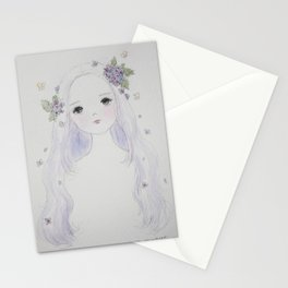 Hydrangea Maiden Stationery Cards