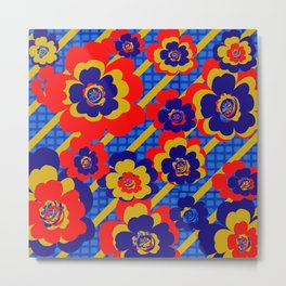 Floral Essence Collection  Metal Print