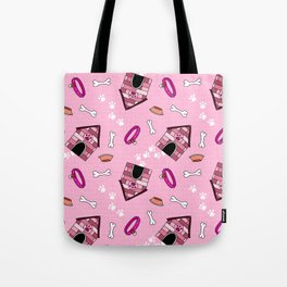 Dog Paradise in Pink Tote Bag
