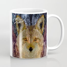 Long Night Coyote Coffee Mug