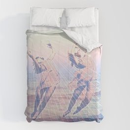 Elementalists under the Sunset Comforters