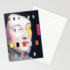 Portrait With A Spectrum 4 Stationery Cards