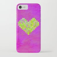 valentines iPhone & iPod Cases featuring Neon Valentines by Fimbis