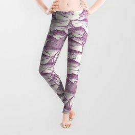 Atlantic fish purple Leggings