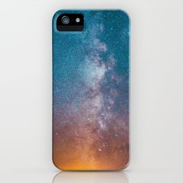 Igniting The Galaxies iPhone Case