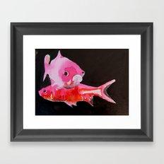 peces Framed Art Print