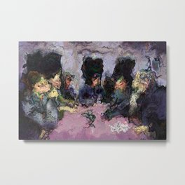 The Banquet Metal Print