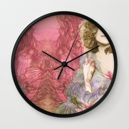 Maria Rita - Study for a portrait Wall Clock