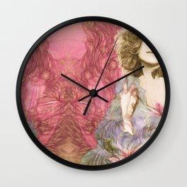 Maria Rita - Study for a portrait Wall Clock