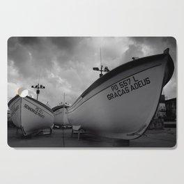 Fishing boats Cutting Board