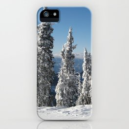 McCall Trees iPhone Case