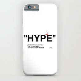 """HYPE"" iPhone Case"
