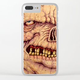 RUDDY  AT THE ZOO Clear iPhone Case