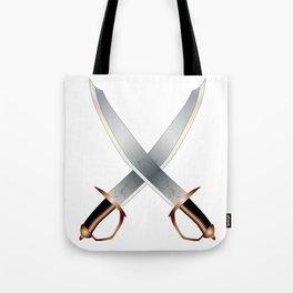 Crossed Cutlasses Tote Bag