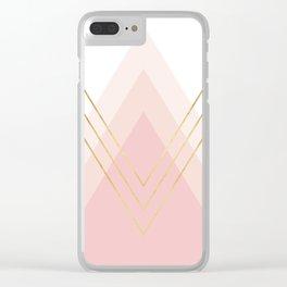 Geometric and modern art XIV Clear iPhone Case