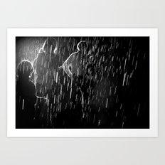 mystery rain Art Print