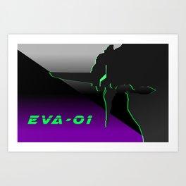 Year of the Eva Art Print