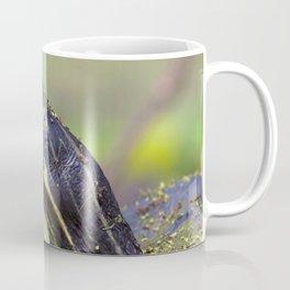 Watercolor Turtle, Eastern Painted Turtle 22, Merchants Millpond, North Carolina Coffee Mug
