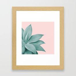 Agave Finesse #3 #tropical #decor #art #society6 Framed Art Print
