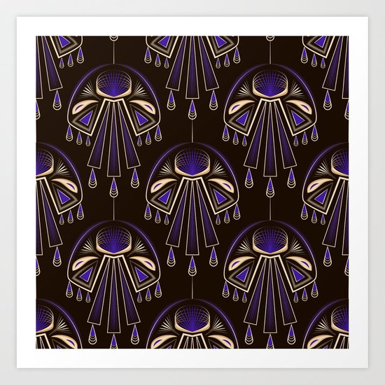 Art Deco No. 6 Art Print