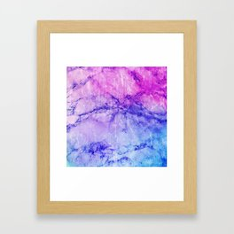 Vivid Stones Framed Art Print