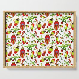 watercolor illustration Serving Tray