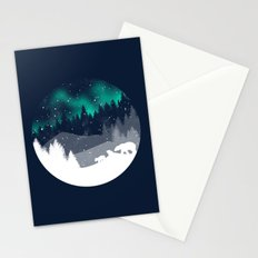 Stardust Horizon Stationery Cards