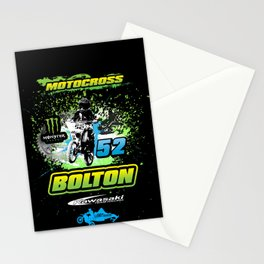 Micah Motocross Shirt Stationery Cards