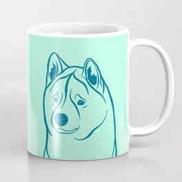American Akita (Mint and Teal) Coffee Mug