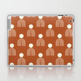Full moon rainbow pattern collection SS02 Laptop & iPad Skin