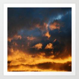 Sunset # 205 Art Print