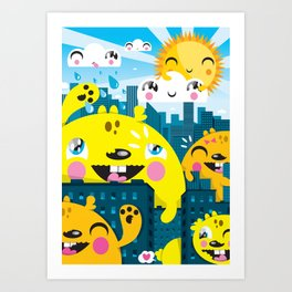 Monsters ( 2007 ) Art Print