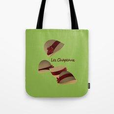 Les Chapeaux Tote Bag