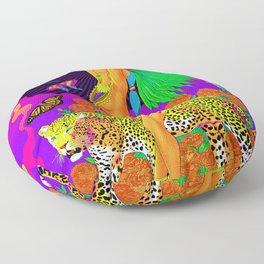 The Aztec Goddess Floor Pillow