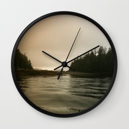 They Mysterious Island Wall Clock