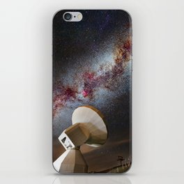 Contact! Search for ExtraTerrestrial Intelligence in the Stars! iPhone Skin
