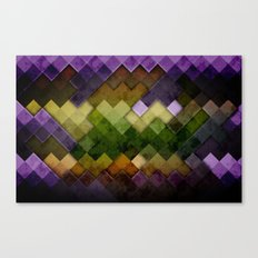 Abstract Cubes GYP Canvas Print