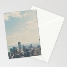 Looking down on the city ... Stationery Cards