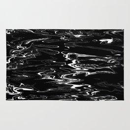 black&white film Rug