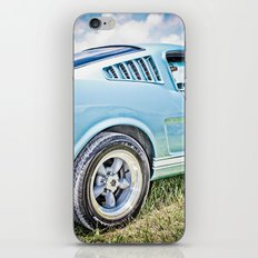 1966 Ford Mustang Fastback Car iPhone & iPod Skin