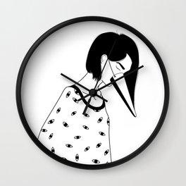 too many lies Wall Clock