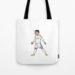 ronaldo christiano cartoon Tote Bag