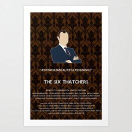 The Six Thatchers - Mycroft Holmes Art Print