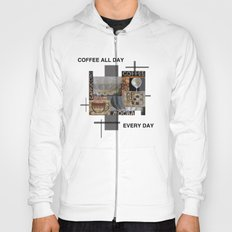 Coffee all day Hoody