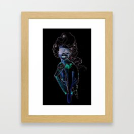The Judgement is the Mirror Framed Art Print