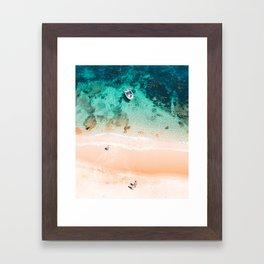 Beach Vacation Framed Art Print