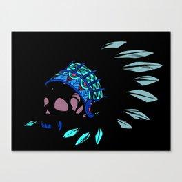 Geronimo's Head Canvas Print