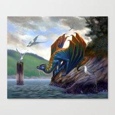 Vancouver Island Sea Dragon Canvas Print